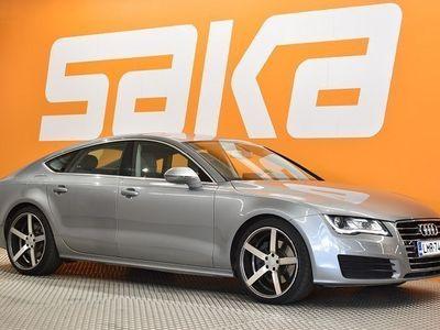 käytetty Audi A7 3,0 V6 TDI 180 kW quattro S tronic Start-Stop ** Nahkasisusta / Merkkihuollettu / Navi / P. kamera /