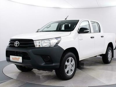 käytetty Toyota HiLux Double Cab 2,4 D-4D 150 4WD, sis Alv. 5-henk kaksikäyttöinen pakettiauto