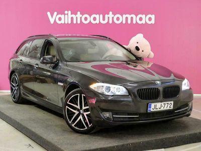 käytetty BMW 525 d xDrive Business # P.Kamera # Nahat # Adpat.Xenon # Juuri tullut # KATSO!