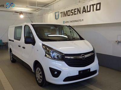 käytetty Opel Vivaro Crew Van 1.6CDTI (120hv) L2H1 MT6 REKISTERÖITY 6:lle!