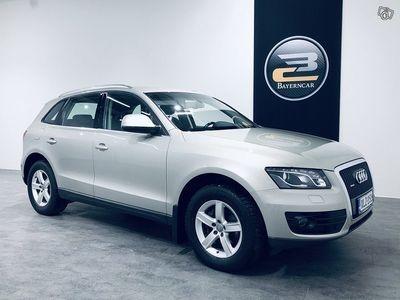 käytetty Audi Q5 2,0 TDI QUATTRO S TRONIC **WEBASTO, SÄHK.VETOKOUKKU, 2XALU.VANTEET & KORKO 0,89% + 3KK LYHENNYSVAPAA