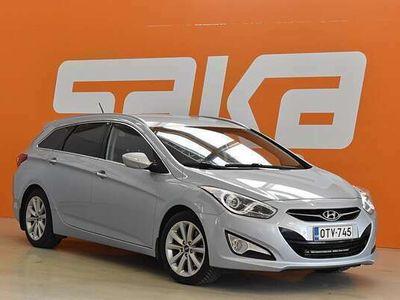 käytetty Hyundai i40 Wagon 1,7 CRDi 100kW 6AT Style ** Suomiauto / P-Kamera / Lohkolämmitin / Bluetooth **