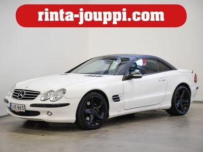 käytetty Mercedes SL500 A - Ilmajousitus, Nahkaverhoilu, Bi-Xenon, Istuintuuletus, Siistikuntoinen V8 Mercedes!