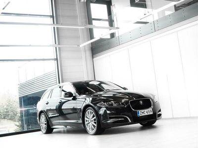 käytetty Jaguar XF Sportbrake 3,0Td V6 275hv S Aut + Nahat + Navi + Meridian + ACC + Keyless Go + BiXenon + Tutkat