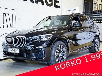 käytetty BMW X5 G05 xDrive30d A M-SPORT # HUIPPUVARUSTEET # ADAPTIIVINEN VAKKARI # HEAD-UP # COMFORT ACCESS # NAVI #