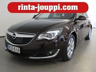 käytetty Opel Insignia Sports Tourer Edition 1,6 CDTI 100kW AT6 - Huippuvarusteet. mm. mukautuva vakionopeudensäädin, poltt