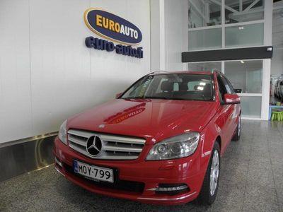käytetty Mercedes C220 CDI BE T Aut. Avantgarde Premium Business SUOMI AUTO, WEBASTO, CRUISE, BLUETOOTH, VETOKOUKKU, ALUT. KAHDET RENKAAT