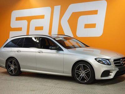 käytetty Mercedes E220 4Matic T A Premium Business AMG-STYLING ** Webasto / Näyttävä ** ** TULOSSA ** Ota yhteys myyn