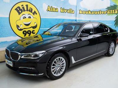 käytetty BMW 740 740 G11 Sedan d A xDrive Business Exclusive ** JOHTAJAN VALINTA ** - *SÄÄSTÄ NYT 500?!*