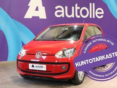 käytetty VW up! Up! *VÄHÄN AJETTU*1,0, 44 kW BlueMotion. Tarkastettuna, Rahoituksella, Kotiin toimitettun