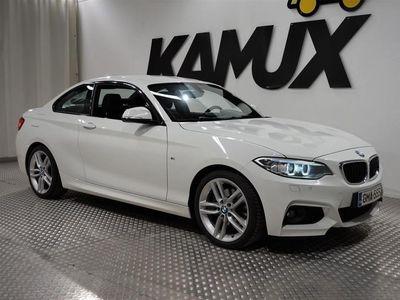 käytetty BMW 220 220 F22 Coupe i A Business M-Sport # Lämmitettävä ratti, Sporttipenkit, M-Sport #