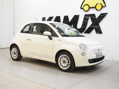 käytetty Fiat 500 Italia 1,2 8v 69 hv Bensiini **BLUETHOOT, OHJAUSPYÖRÄN KEVENNIN,NÄTTI**