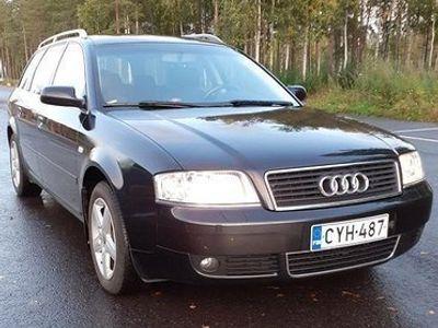käytetty Audi A6 2litra automaatti bensiini 2004.farmari