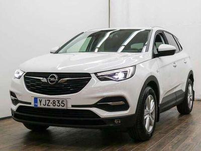 käytetty Opel Grandland X Enjoy 1,2 Turbo Start/Stop 96 kW AT6 **** LänsiAuto Safe -sopimus hintaan 590EUR. ****