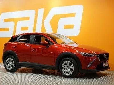käytetty Mazda CX-3 2,0 (120) SKYACTIV-G Premium Plus 6AT EC2 ** Suomi-auto / Navi / Kaistavahti / Peruutuskamera / Lohk