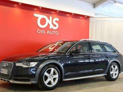 käytetty Audi A6 Allroad 3.0TDI 180kW Business + NÄYTTÄVÄ NELIVETOINEN SUOMI-ALLROAD UPEILLA VÄREILLÄ JA HYVILLÄ VARUSTEILLA + RAHOITUS +