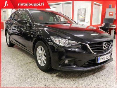 käytetty Mazda 6 Sport Wagon 2,0 (145) SKYACTIV-G Premium Plus Business 6MT 5ov TA3 **** LänsiAuto Safe -sopimus hint