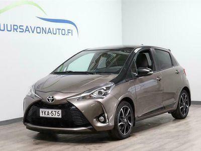 käytetty Toyota Yaris 1,5 Dual VVT-i Style 5ov Multidrive S **HARVINAINEN STYLE - LASIKATTO**
