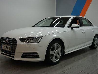 käytetty Audi A4 Sedan Land of q Edit2 2,0 TDI 140 S tro **KORKOTARJOUS 1,9% + KULUT**ILMAINEN KOTIINKULJETUS**