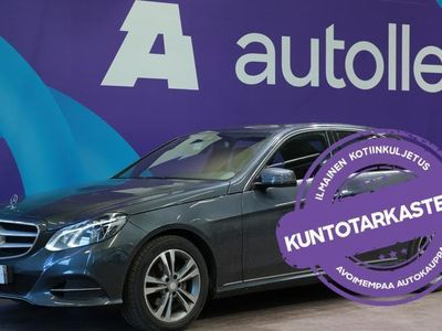 käytetty Mercedes 220 E *KUNTOTARKASTETTU!*CDI BE A Premium Business. Tarkastettuna, Rahoituksella, Kotiin toimitettuna