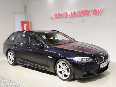 käytetty BMW 520 TwinPower Turbo A F11 Touring Business Automatic *M-Sport / Navi / Koukku / Tutkat*