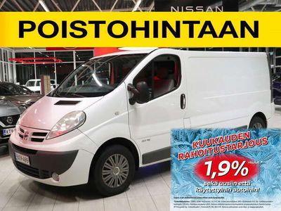 käytetty Nissan Primastar Van L2H1 2,0 dCi 115 DPF 6M/T, Glazed FD, Glazed SSD, Comfort