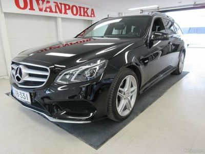 käytetty Mercedes E220 Bluetec 4Matic EditionE AMG, Huippu varustein, Takuu 1Vuosi/20tkm, Koukku,Alcantara verhoilu