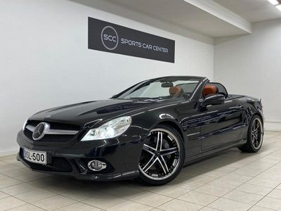 käytetty Mercedes SL500 Facelift Designo exclusive, ILS, ABC, Airscarf, Panoraamalasikatto, H&K, Distronic, Comand