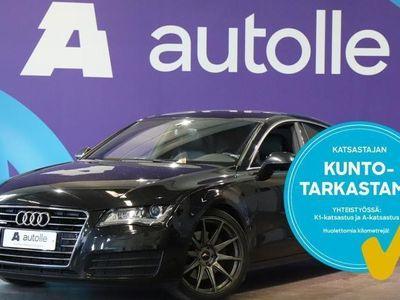 käytetty Audi A7 *KOTIINTOIMITUS!* 3,0 V6 TDI quattro S tronic Start-Stop. Tarkastettuna, Rahoituksella, Kotiin toimi