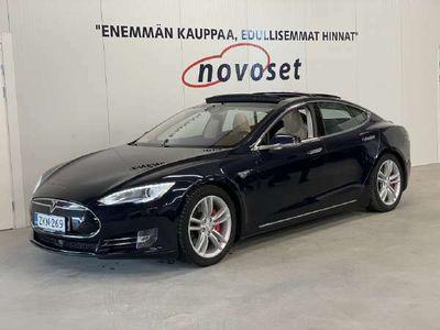 käytetty Tesla Model S P85 416hv *1.99% korko / AP1 / Free Supercharger / Ilma-alusta / Tuplalaturi / Panorama / SUPERHIENO*