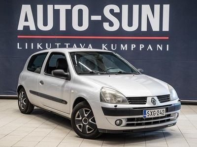 käytetty Renault Clio 1,2 Pack Authentique 3d