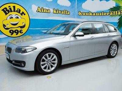 käytetty BMW 520 d TOURING SPORT AUTOM - *ALV-VÄHENNYSKELPOINEN // VAKKARI // TUTKAT // SÄHKÖLUUKKU* - *NYT ON OSTAJA