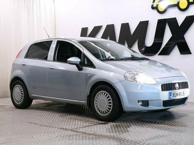 käytetty Fiat Grande Punto 1,2 65 Active 5D / Suomi-Auto / Lohko + Sisälämmitin / Siisti Punto! /
