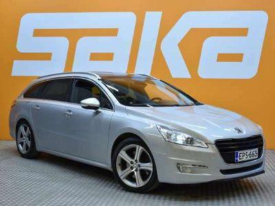 käytetty Peugeot 508 SW GT HDi ** Webasto / HUD / Navi / Sporttipenkit / Lasikatto **