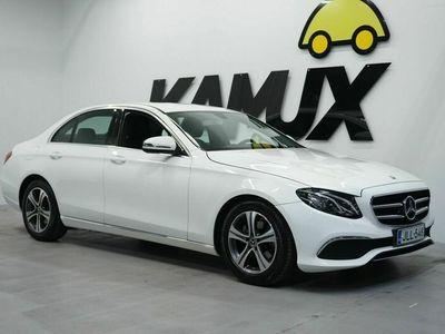 käytetty Mercedes E200 A Pro 9G-Tronig / ALV. / Suomi-Auto / LED / Sporttipenkit / Nahat / BT / P. Kamera /