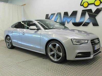 käytetty Audi A5 Sportback 2,0 TDI clean diesel 140 kW quattro S tronic S-LIne / Sport istuimet / Xenon / Parkkitutka