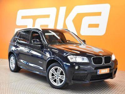 käytetty BMW X3 xDrive20d TwinPower Turbo A F25 ** M-sport / Tulossa Saka Kirkkonummelle **