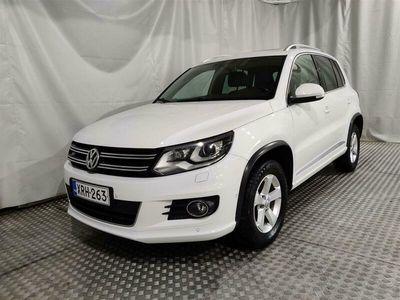käytetty VW Tiguan Sport & Style 2,0 TDI 135 kW (184 hv) 4MOTION DSG-automaatti / R-LINE / WEBASTO / KOUKKU