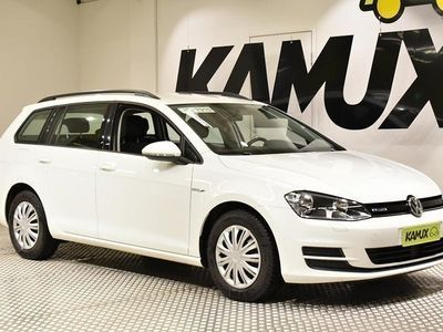 käytetty VW Golf Variant Comfortline 1,4 TGI 81 kW (110 hv) BLUEMOTION **Maakaasulla 1000km noin 50€, Juuri Huollettu