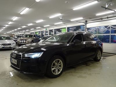 käytetty Audi A4 Avant Business 2,0 TDI 110 kW S tronic ** LED-valot, Koukku, Merkkihuollettu **