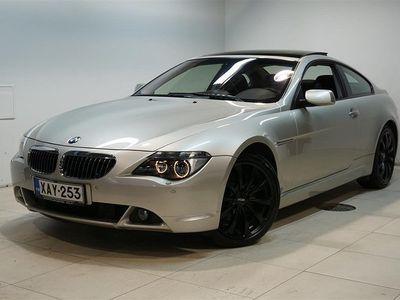 käytetty BMW 645 CiA Coupe, SMG, Prof.Navi, Hifi, Xenon, Nahat. Rahoitus jopa ilman käsirahaa.
