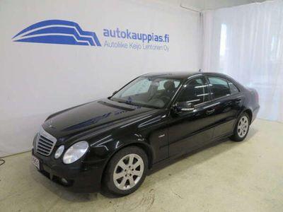 käytetty Mercedes E200 NGT BlueEFFICIENCY Classic (kaasu/bensiini) *Hyvin siisti yksilö*