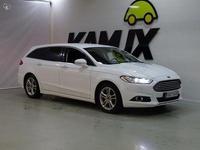 käytetty Ford Mondeo 2,0 TDCi 150hv PowerShift Titanium Business Wagon **1-omisteinen / PA-Lisälämmitin / LED-ajovalot**