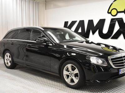 käytetty Mercedes E220 T A Avantgarde // NAHAT / BT AUDIOLLA / P-KAMERA / TUTKAT //