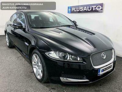 käytetty Jaguar XF 3.0D V6 241hv Facelift 8-vaiht. Automaatti *Ratin ja tuulilasin lämmitys, BiXenon -valot, P-kamera + tutkat, Mustat nahat*