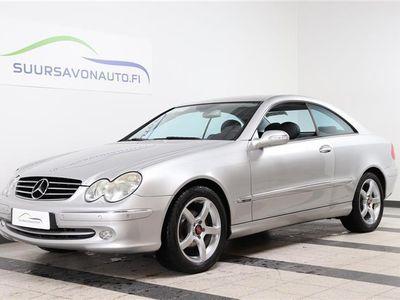 käytetty Mercedes CLK200 Kompressor Avantgarde Coupe 2d A ** VÄHÄN AJETTU COUPÉ! **