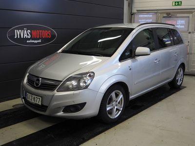 käytetty Opel Zafira 5-ov Enjoy 111 1,7 CDTI EcoFLEX DPF, 7 Paikkainen Katsastettu 10/2020, 2* Uudenveroiset renkaat, Koukku, I...