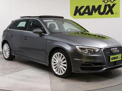 käytetty Audi A3 Sportback S-Line 1,4 TFSI e-tron S-tronic // Navigointi / Kaukovaloautomatiikka / Kaistavahti //