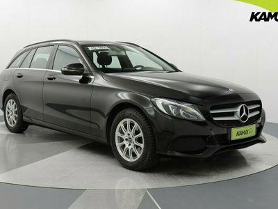 käytetty Mercedes C220 d T A Premium Business / Tulossa myyntiin / Vetokoukku / Navi / Vakionopeudensäädin