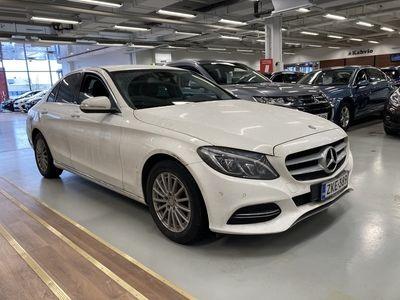 käytetty Mercedes C220 BlueTec A Launch Edition*Webasto kauko-ohjaimella*ILS* *** J. autoturva saatavilla, J. kotiintoi